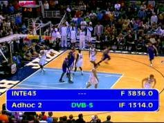 Intelsat 11 at 43.0 w_C band_Americas Europe footprint _ 3 836 H NBA tv and WGN HD sports network  001