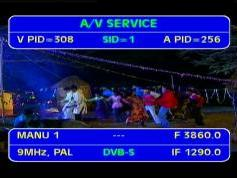 Insat 4B at 93.5 e_3 860 H feeds 9 MHz PAL India _ IF data